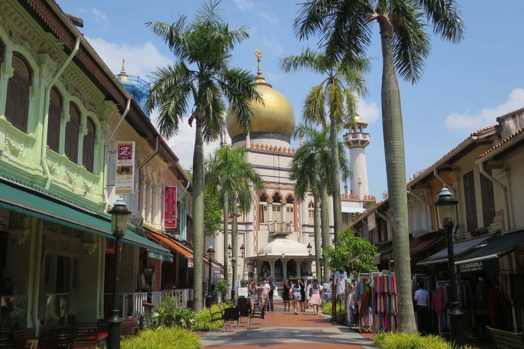 Arabian niiights… Actually no, just Singapore © Sarah Reid
