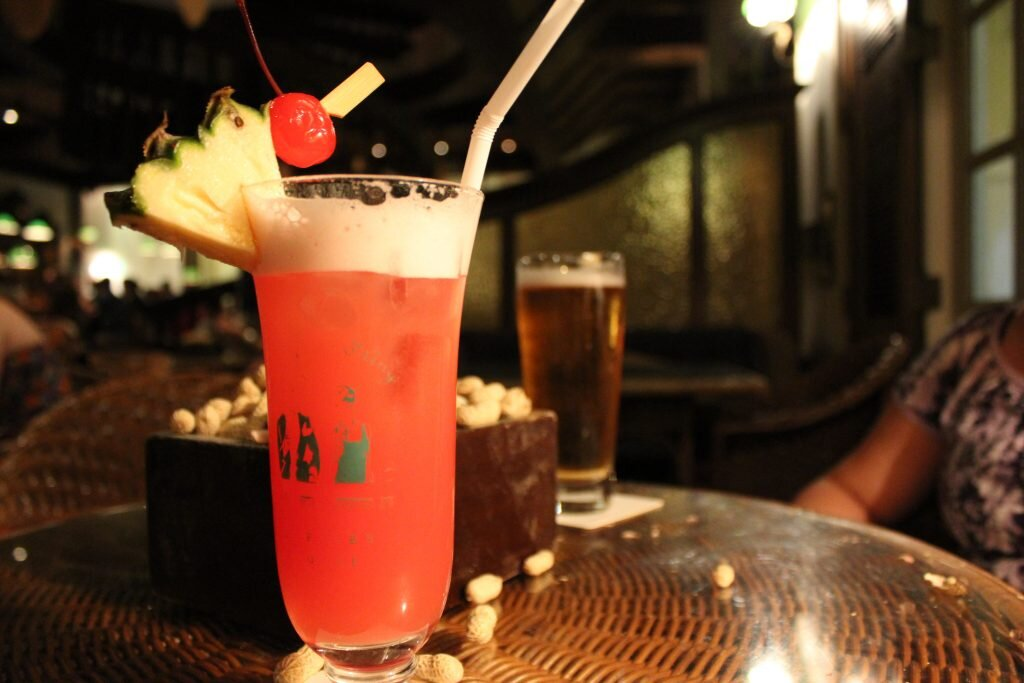 The Long Bar's Singapore sling: it might be a classic, but it'll cost ya. Image by  il_baro  / flickr