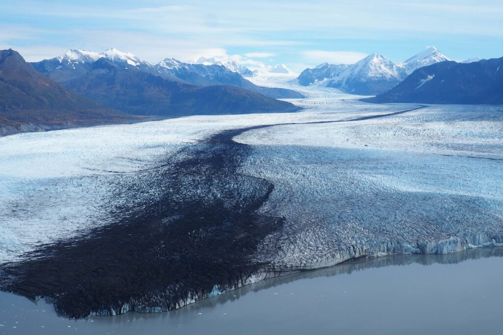 The stunning Knik Glacier is melting faster every year © Sarah Reid