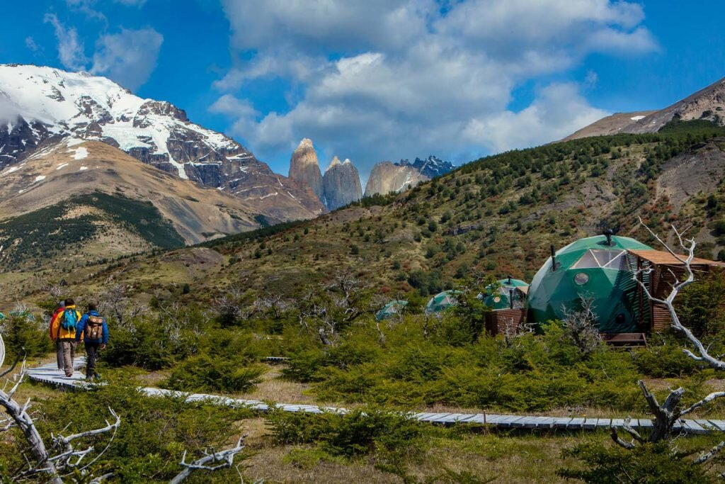 Sleep easy at EcoCamp Patagonia, one of the world's most sustainable hotels ©  Cascada Expediciones