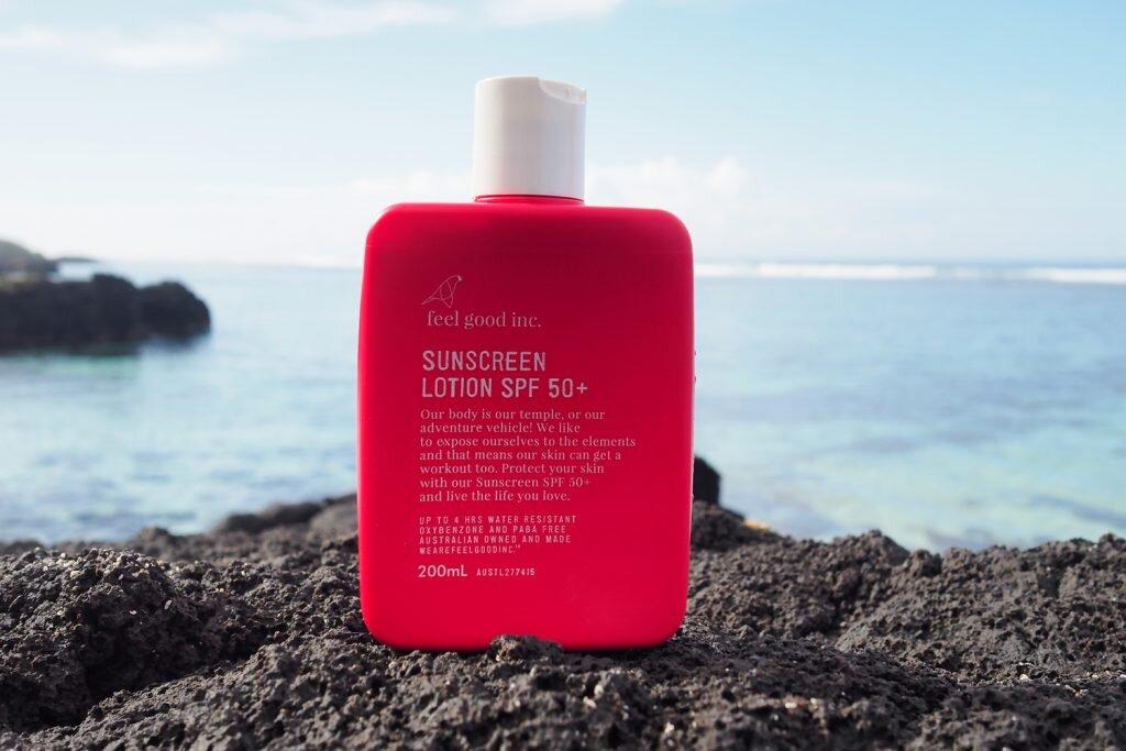 All the feels for Feel Good Inc. Sunscreen © Sarah Reid