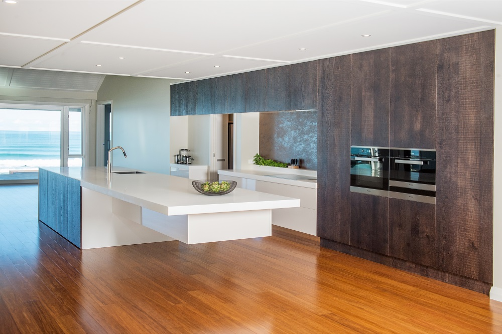 THE CANTILEVERED KITCHEN -  Click for more images.