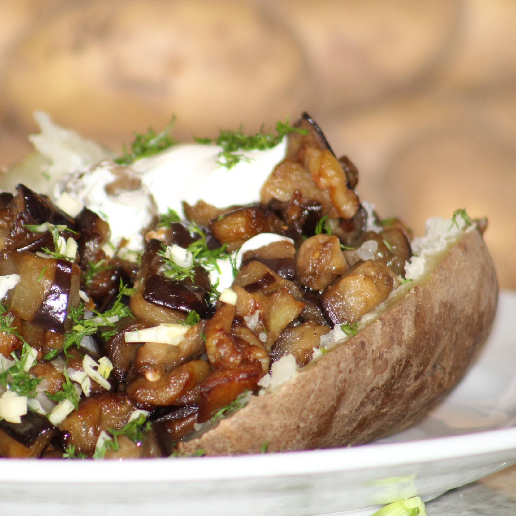 Eggplant Spud