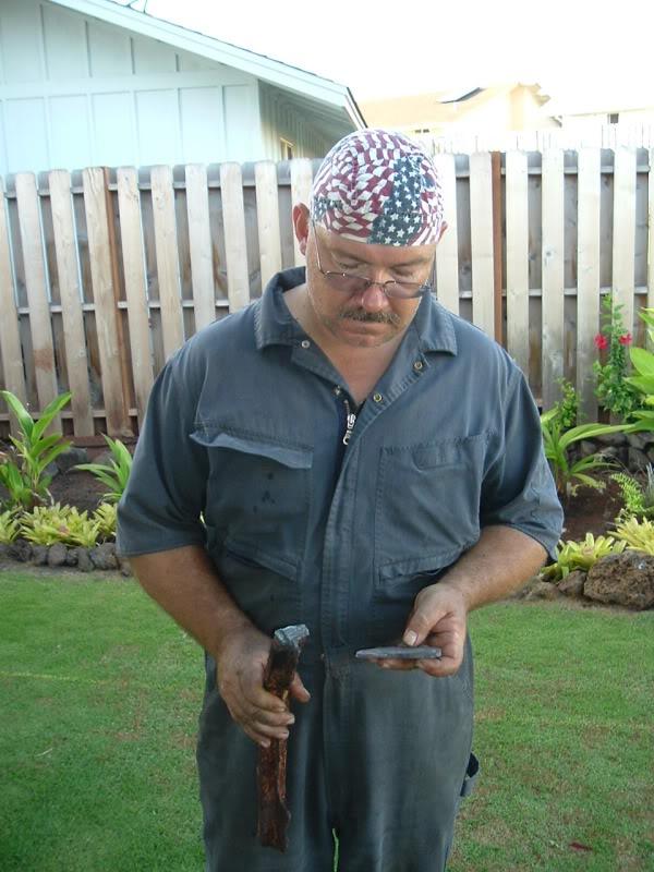 Steve Shimanek, artist blacksmith