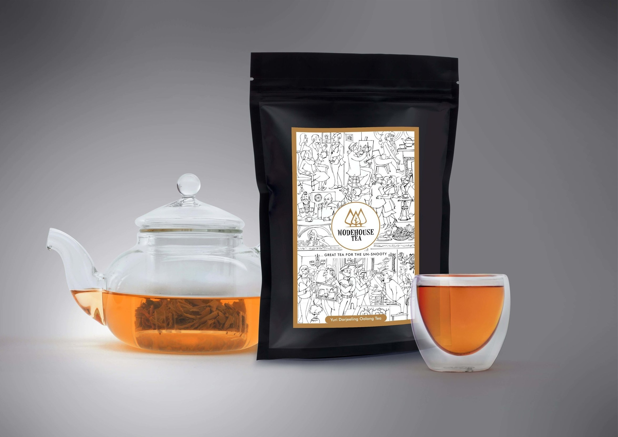 Not snooty.Not hoity-toity.Just great tea. - Loved by 1,358 unsnooty tea drinkers around the world (and counting).