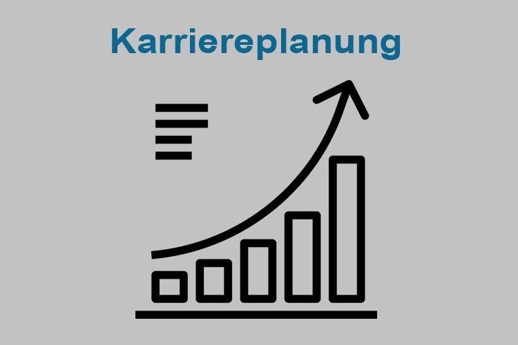 In einer Karriere gibt es Höhen und Tiefen. Um für jede Situation eine passende Lösung zu haben, erarbeiten wir mit dir einen Karriereplan.