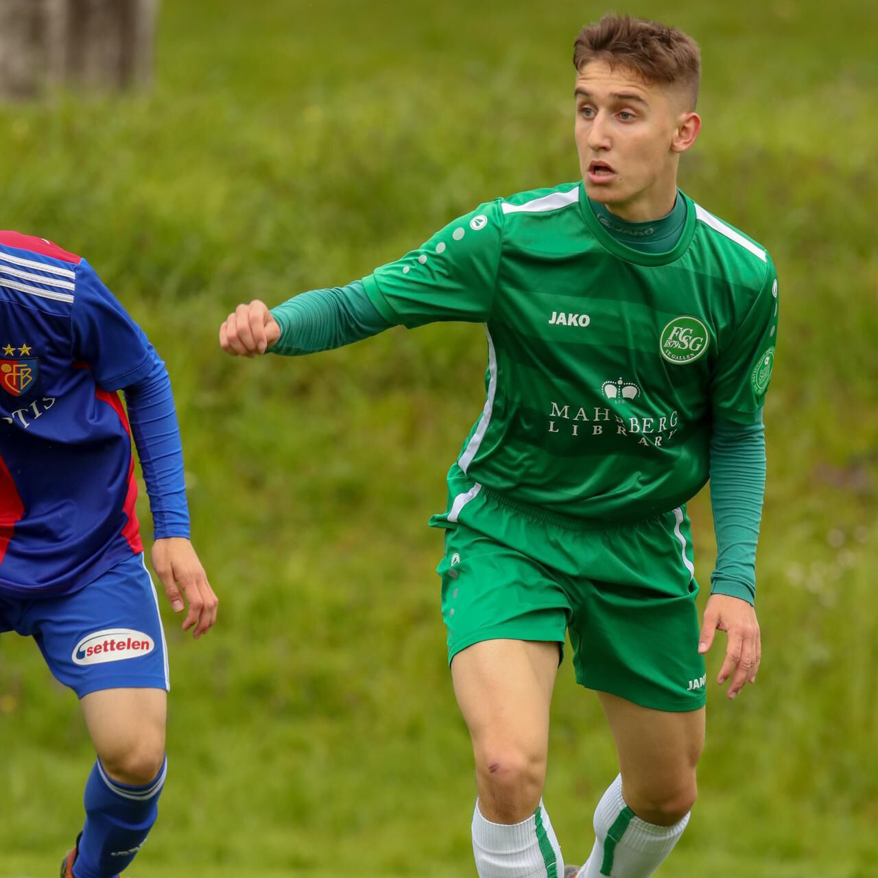 Alessandro Mogus Angriff 09.04.2003 FC St. Gallen U18