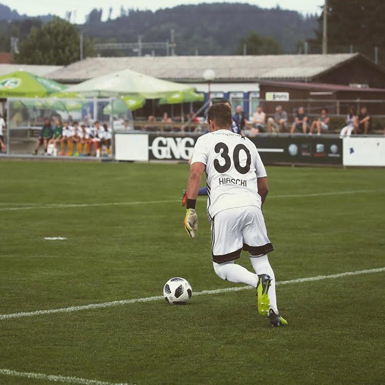 Ronny Hirschi Torwart 26.09.1999 FC Gossau (1. Liga)