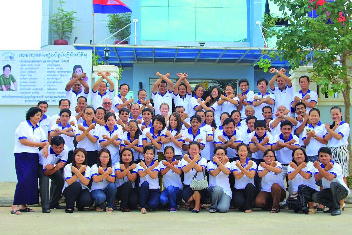 11-TPO staff SAY NO TO VIOLENCE.JPG