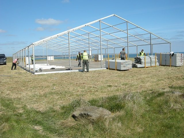 And the marquee rises!! Getting ready for the event of the year Gala dinner and family fun day! Making it happen for Aberdeen!  Soon it will be the star attraction for the North East - a world class visitor and marine education centre!  #MakingItHappen #Aberdeen #dolphins #meltaberdeen #crubag #northlinkferries #galadinner #familyfunday #visitabdn