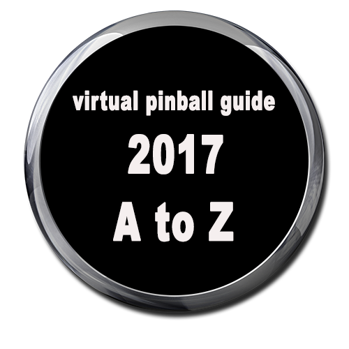 - Virtual Pinball guide A to Z by Major Frenchy ( 2017 )