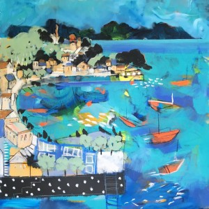 Symi Harbour - Sold