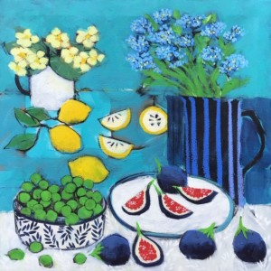 Forget me Nots and Figs Painting - Relton Marine.jpg
