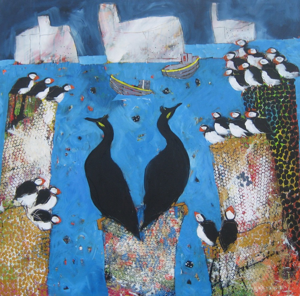 Big Farne Little Birds - Sold
