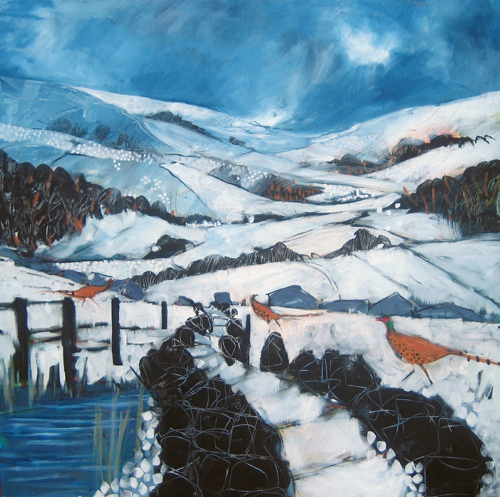 Hope Valley, Winter - Sold