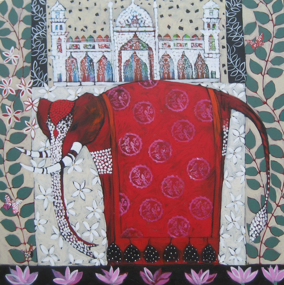 Red Elephant - Sold