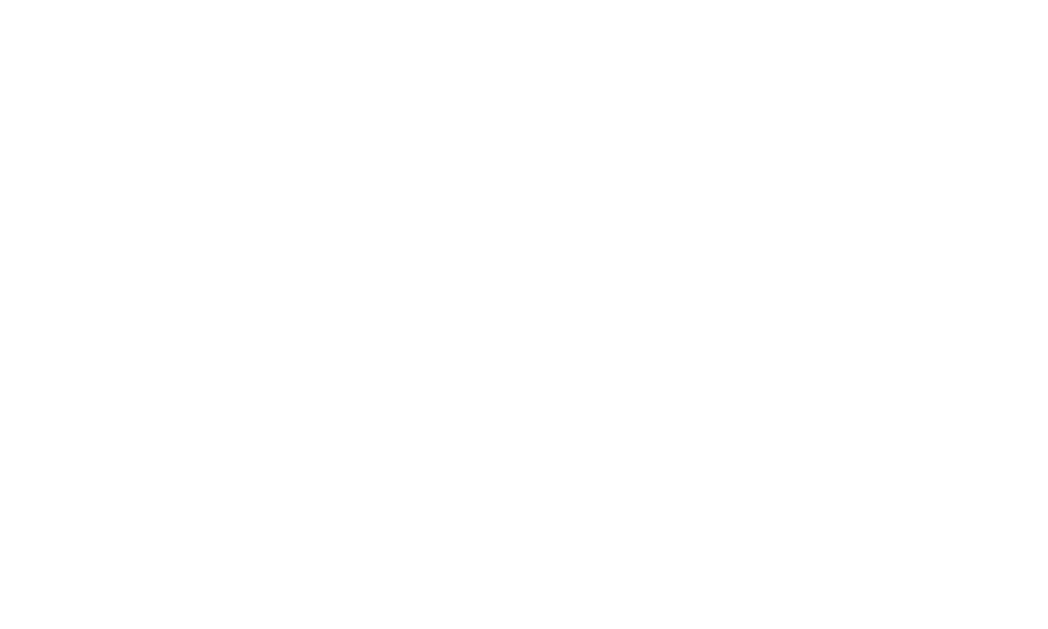 Mejuri logo in white