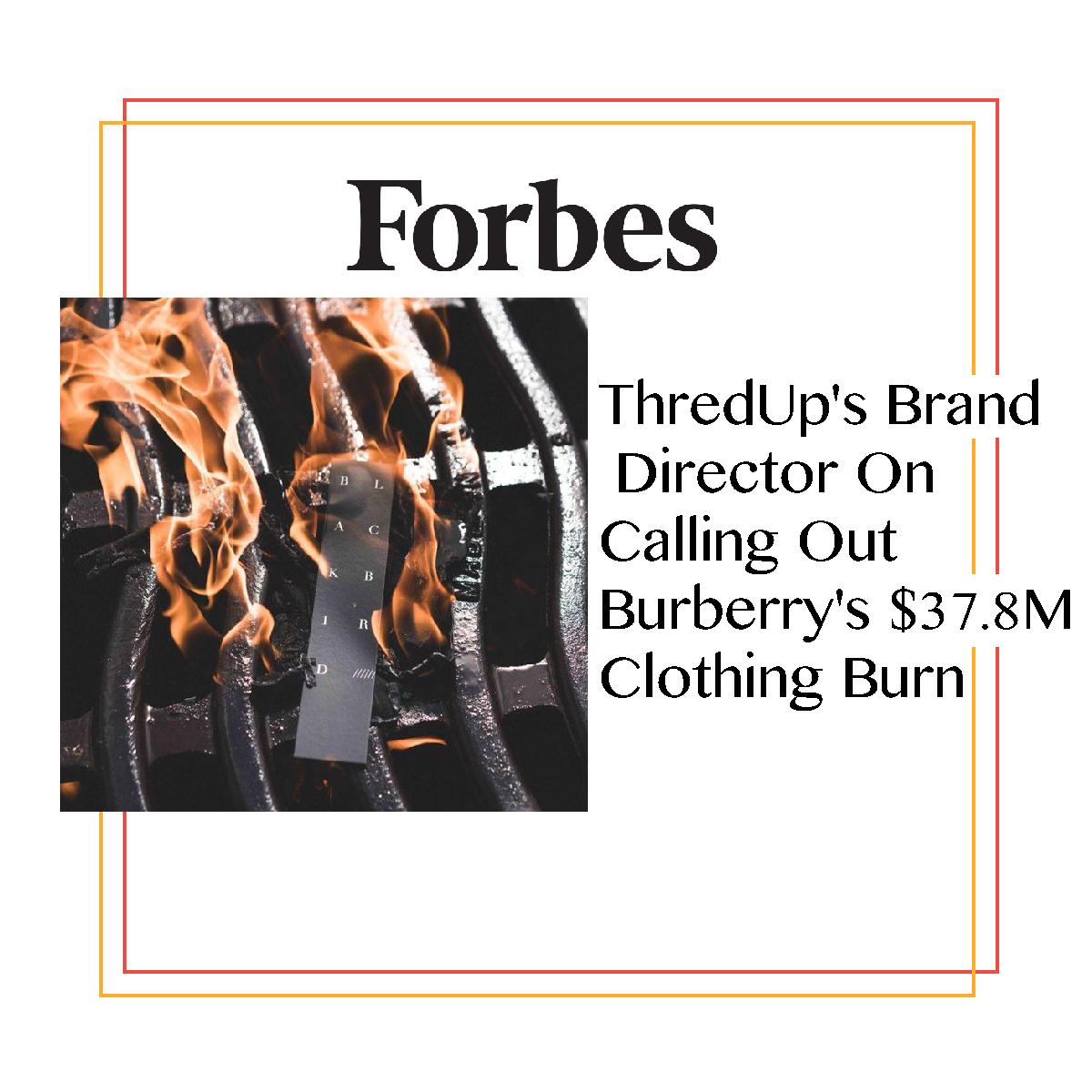 Forbes Magazine + ThredUP