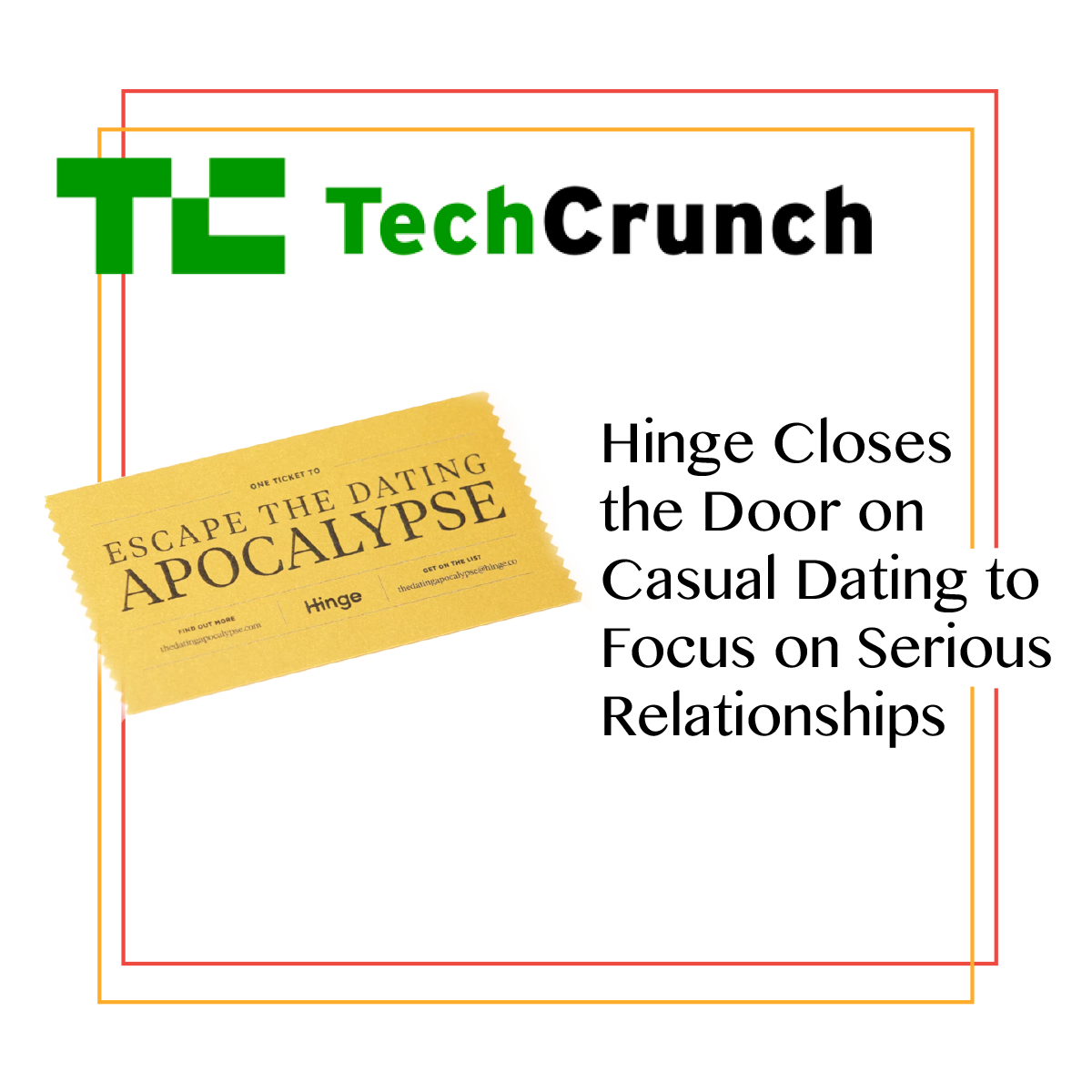 Tech Crunch + Hinge