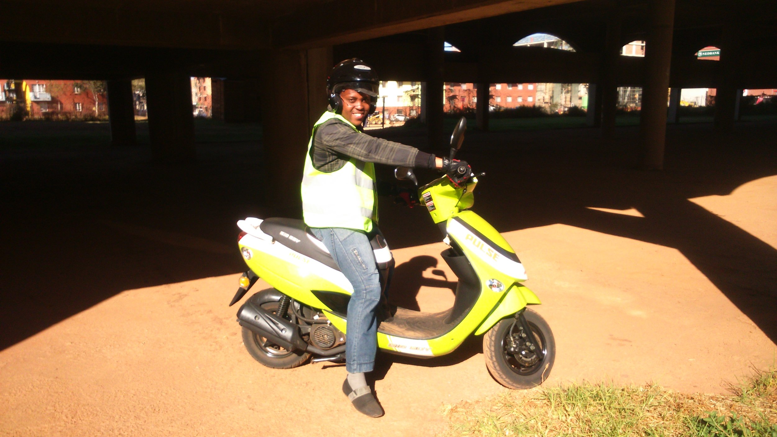 LEARN TO RIDE - Learn to ride and get a job with a company that has their own fleet of bikes