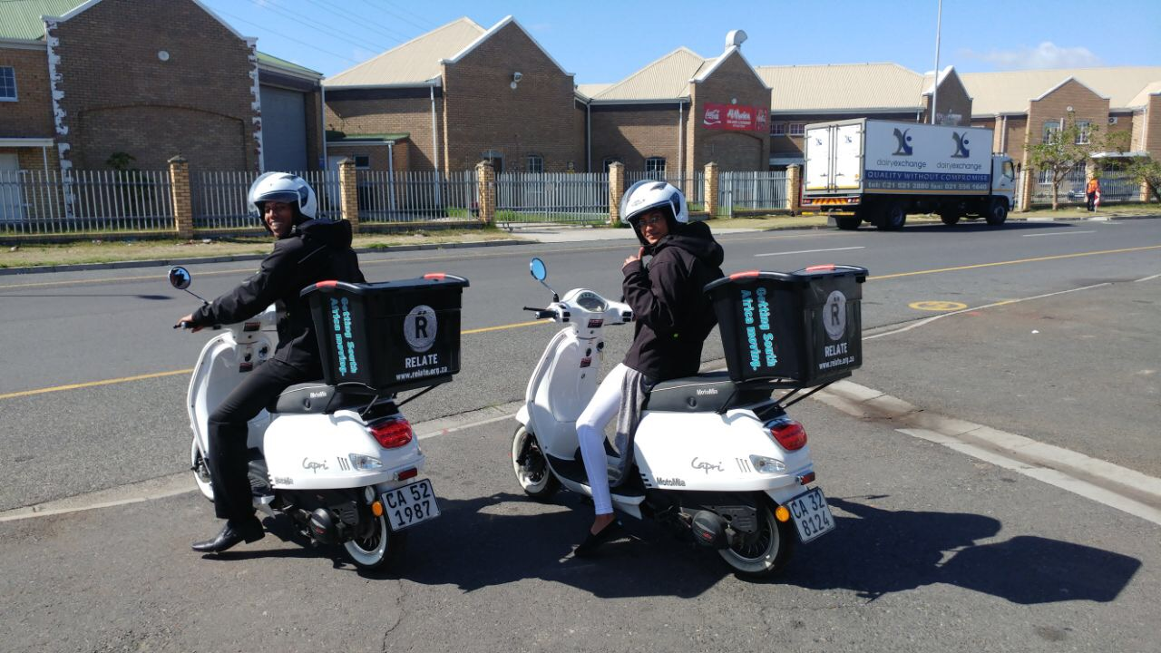 RIDE TO EARN - Fully equip a rider to work for a mobile app-based company