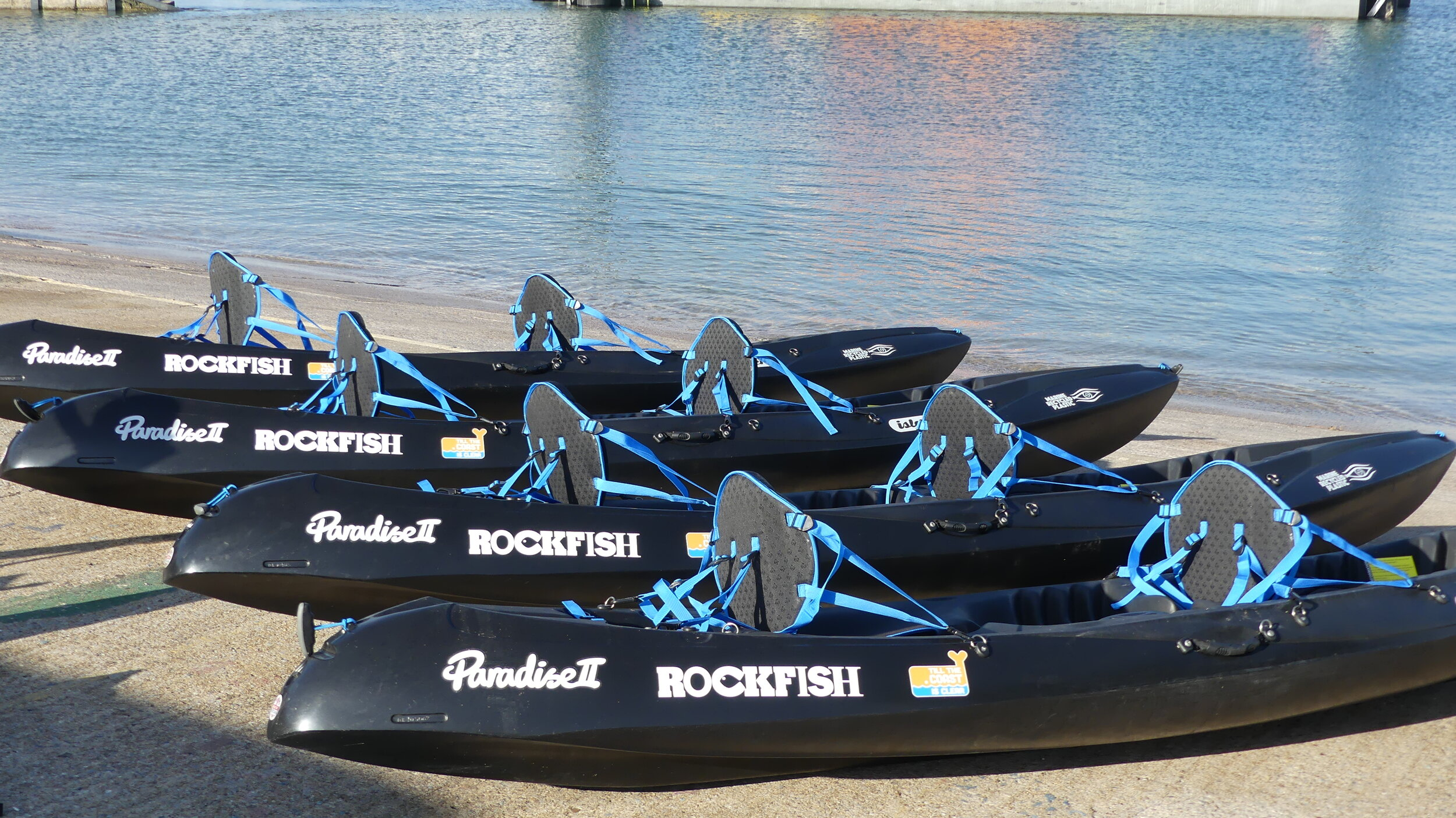 Marine Recycled Plastic Kayaks