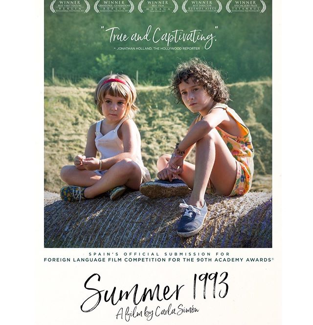 We are less then two weeks away from #AfterImageFilmFest opening night! 👏🏼 .. In the meantime, we wanted to share another critically acclaimed film that will be featured at this years fest. Currently 100% on #RottenTomatoes.. you're not going to wanna miss #Summer1993 🍅🏆 In the summer 1993, following the death of her parents, six years old Frida moves from Barcelona to the Catalan province to live with her aunt and uncle, who are now her new legal guardians. The country life is a challenge for Frida – time passes differently in her new home and the nature that surrounds her is mysterious and estranging. She now has a little sister for whom she has to take care of and has to deal with new feelings, such as jealousy. Often, Frida is naively convinced that running away would be the best solution to her problems. Yet, the family does what it can to achieve a fragile new balance and bring normality to their life. Occasional family outings to a local fiesta or a swimming pool, cooking or listening to jazz in the garden bring them moments of happiness. Slowly, Frida realizes that she is there to stay and has to adapt to the new environment. Before the season is over, she has to cope with her emotions and her parents have to learn to love her as their own daughter. ✨ Watch the trailer now in our story + tickets are now on sale, click link in our bio