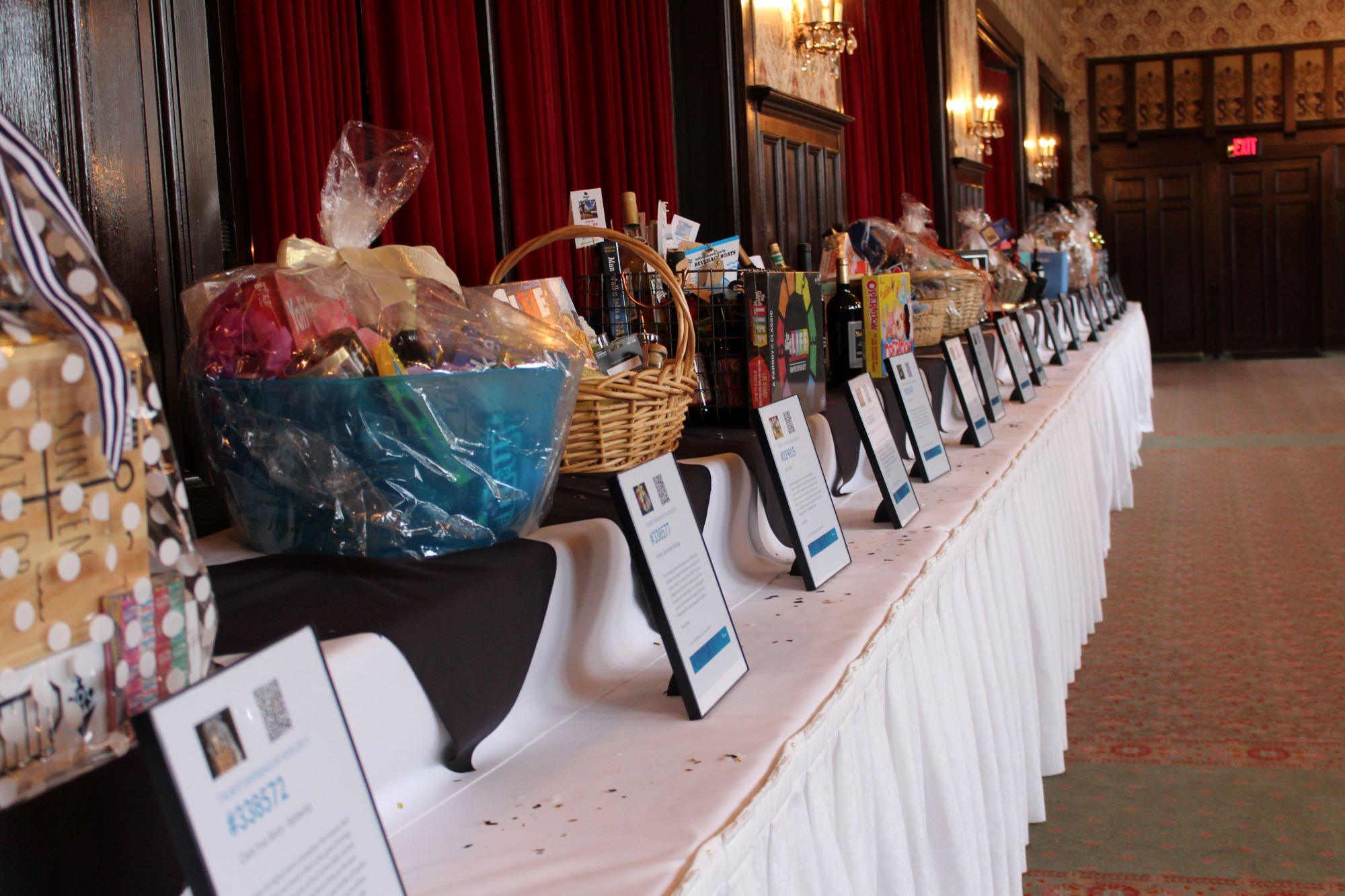 Auction Table from Gala 2018