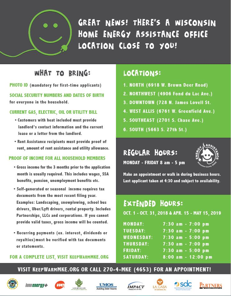 Energy Assistance flyer page 2
