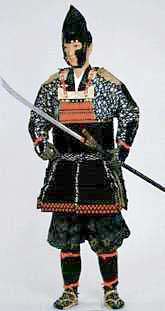 Haramaki dō  typical of the 14-15th centuries.  Image courtesy of the Kyoto Costume Museum