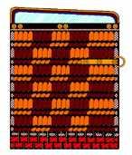 Hi murasaki shikime  (orange and purple checkerboard)