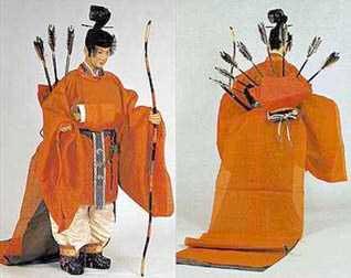 Bukan sokutai  from the  Kyoto Costume Museum