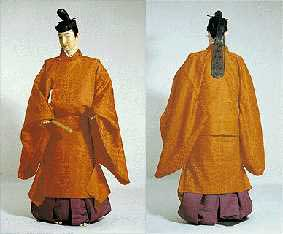 Winter  kannōshi sugata , from the  Kyoto Costume Museum