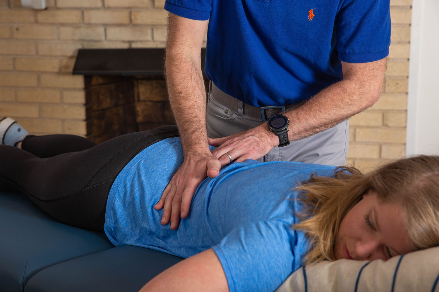Manual therapy is the most common form of physical therapy. It typically involves hands-on manipulation by the therapist of a patient's specific joints and/or body tissues.