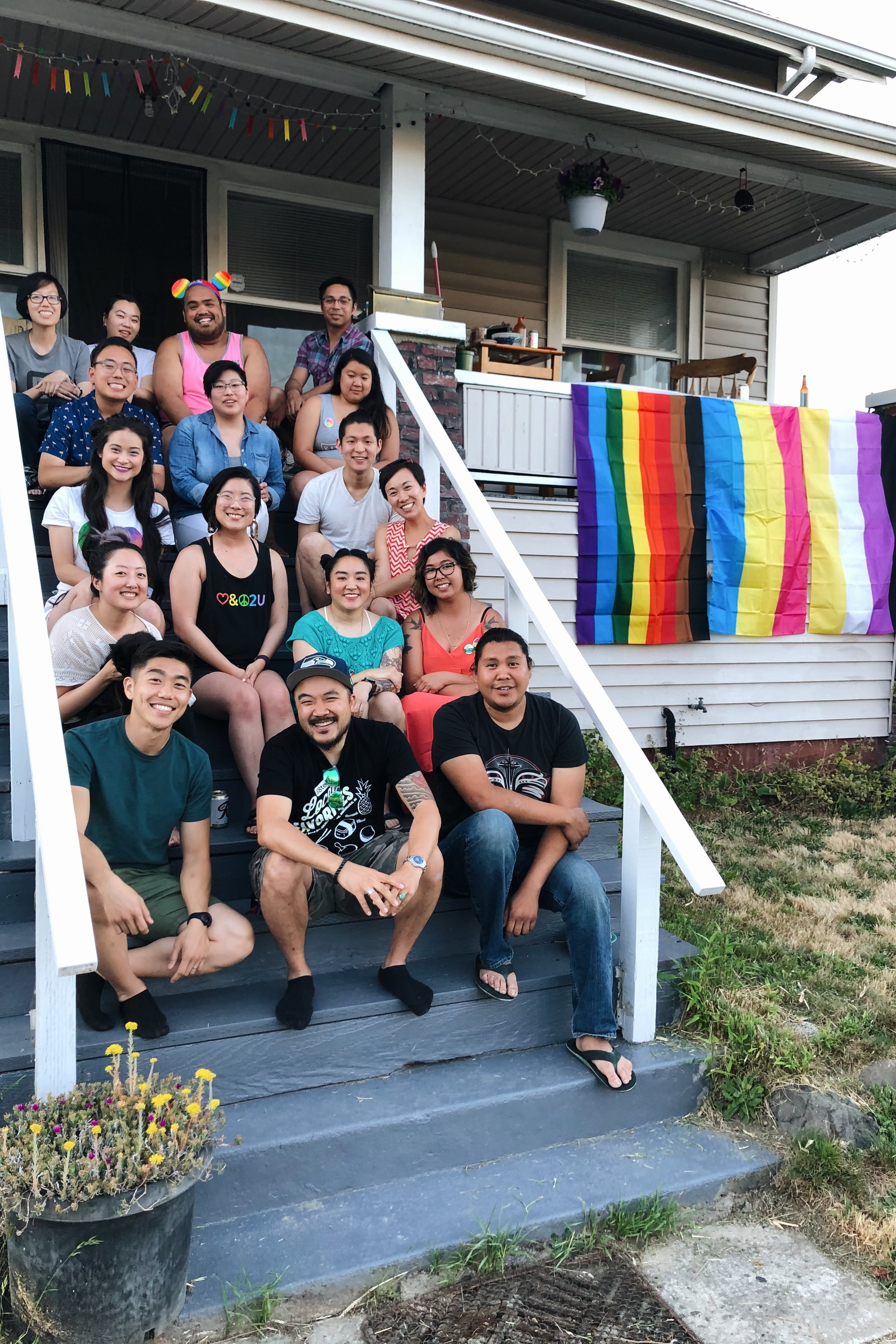 Celebrating Pride 2019 / Photo by Aaron Lesaca