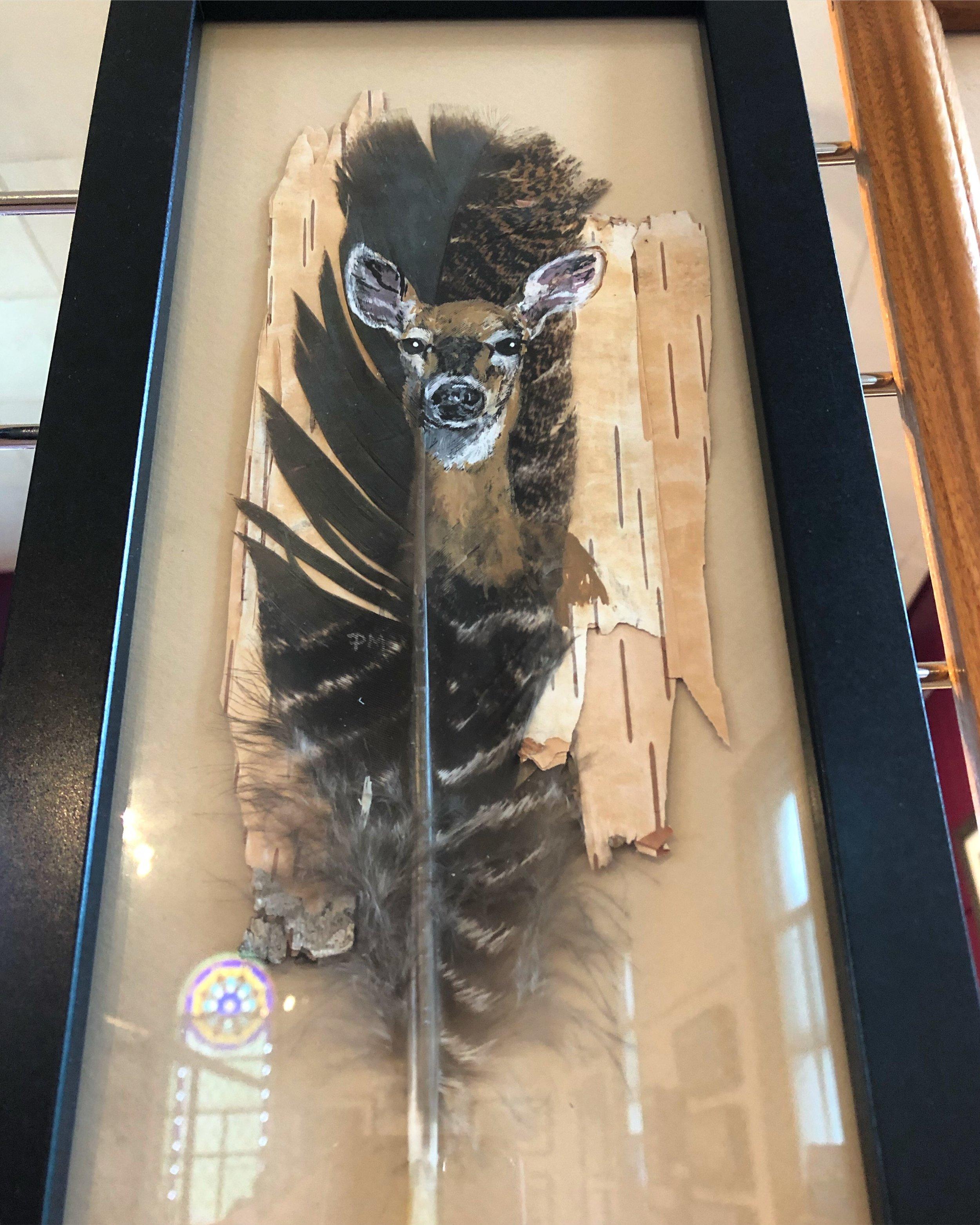 Pat Morris Feather Art