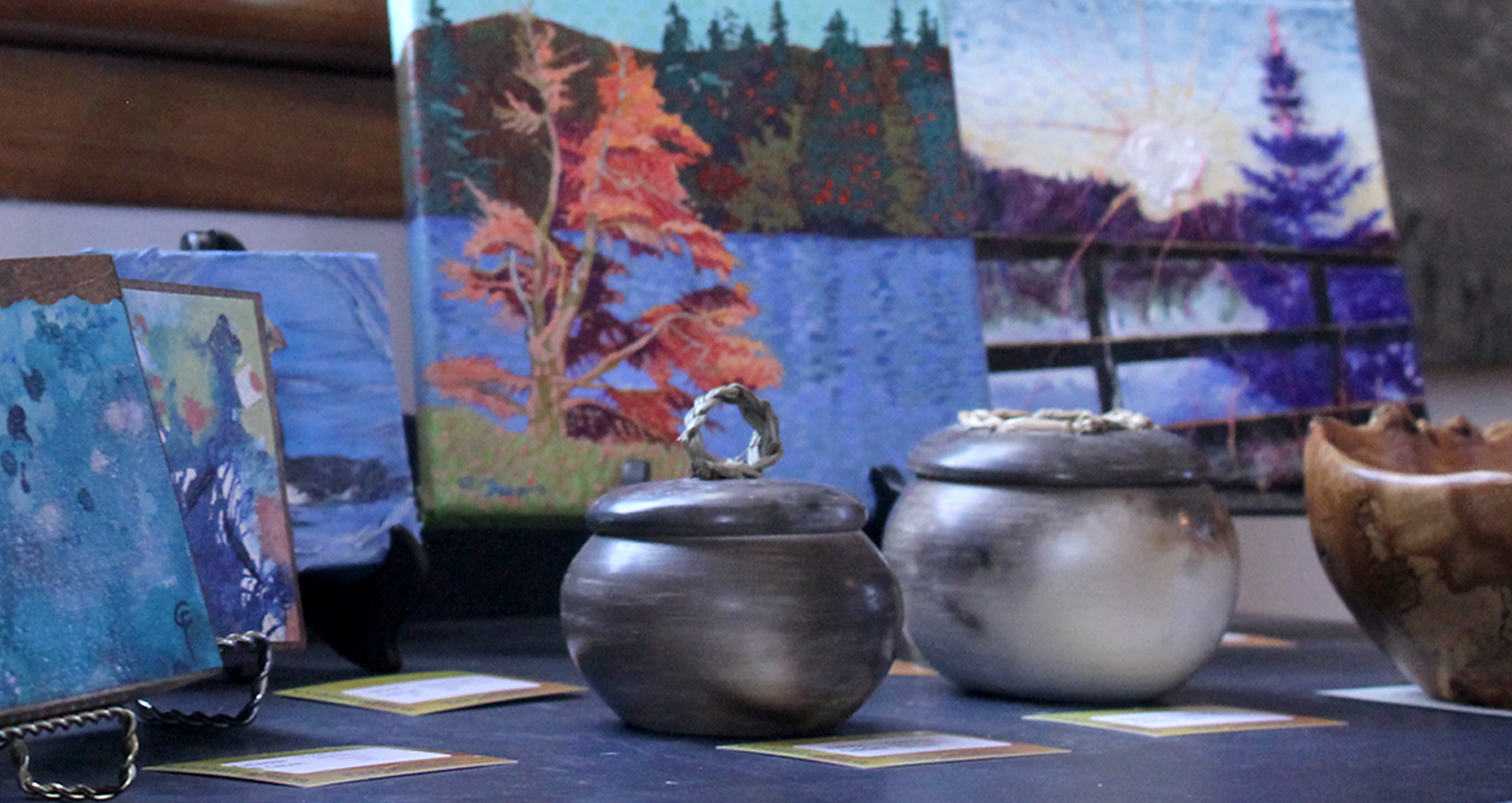 Pottery & Paintings