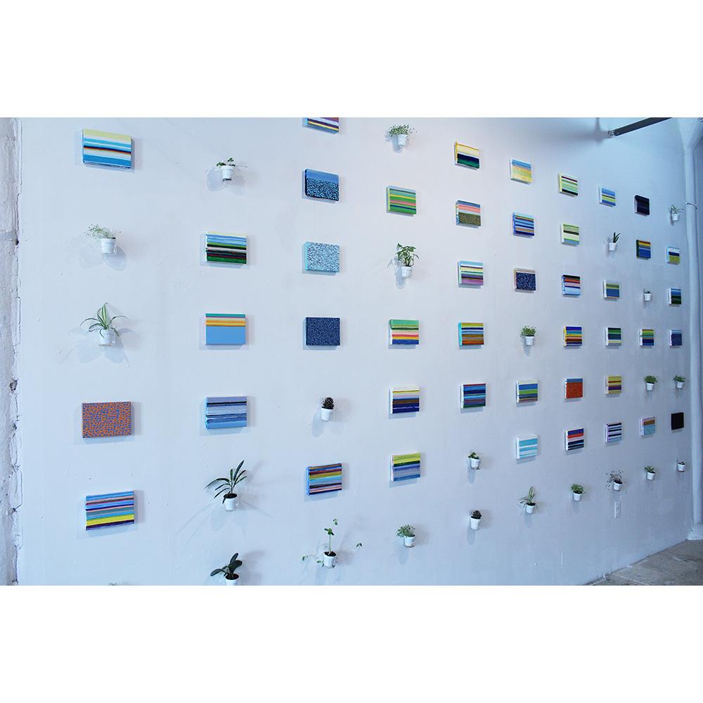 Installation view: Horizons (2014)