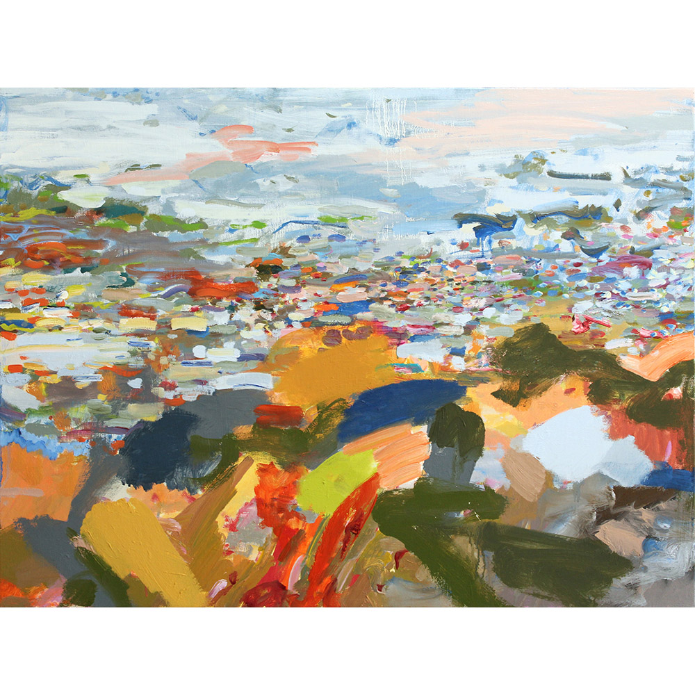 Luoto (2012), 76 x 101,6 cm, oil on linen, sold