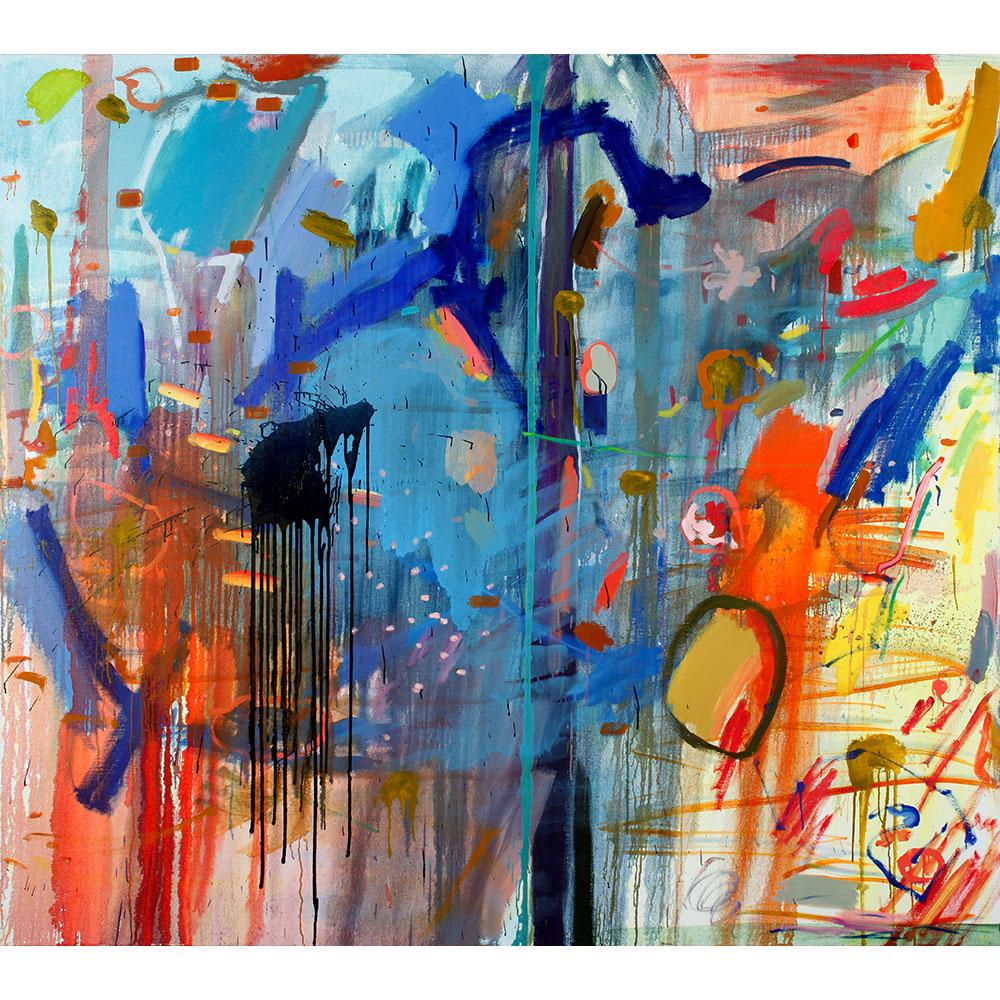 Play (2011), 162,5 x 182,9 cm, oil on linen
