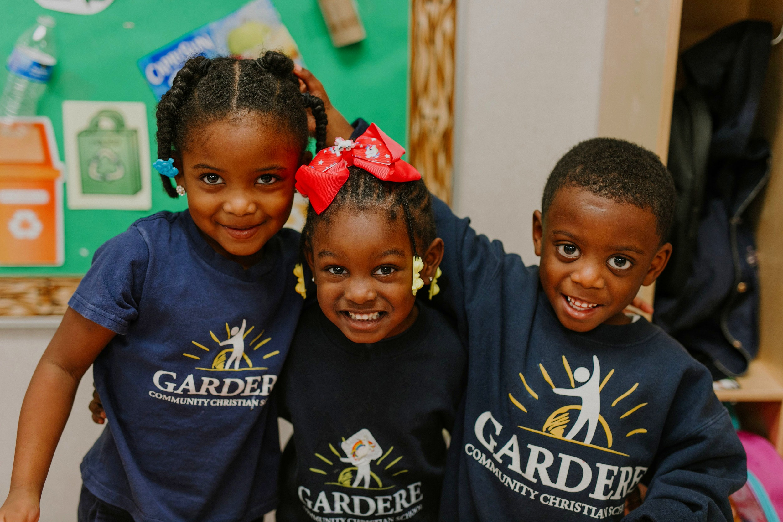 OUR GOAL - The goal of Gardere Community Christian School is to make a high quality, Christian education available to every child and family in the Gardere area, regardless of their financial circumstances.