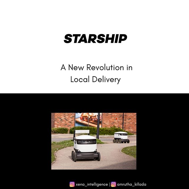 The future of last mile delivery. The future is here.  #tech #autonomous #startup #technews
