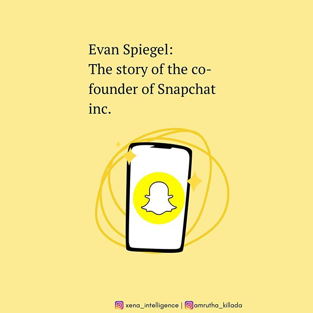 What doesn't kill you makes you stronger - the story of Evan Spiegel, founder and CEO of Snapchat.  Research and design - @amrutha_killada  #snapchat #socialmedia #tech #technews #entrepreneurship