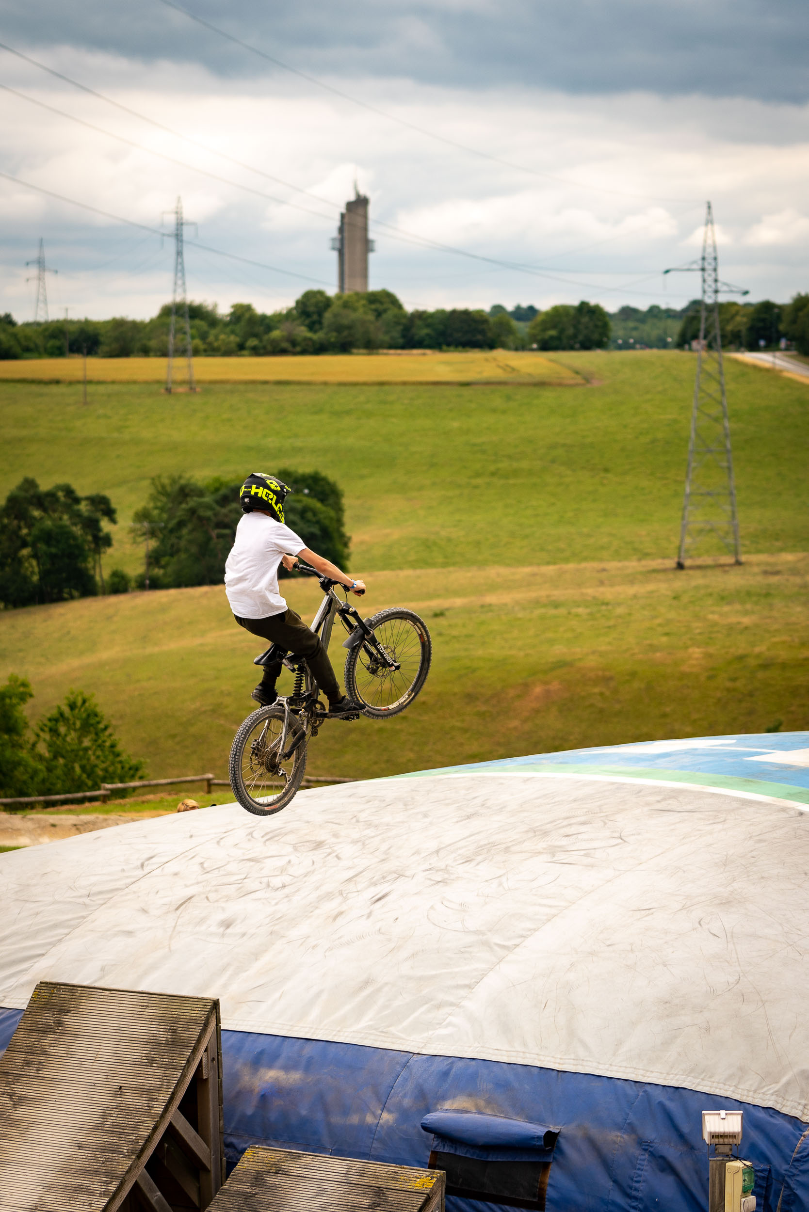 Day at the Bike Park. Photo taken by an event photographer.