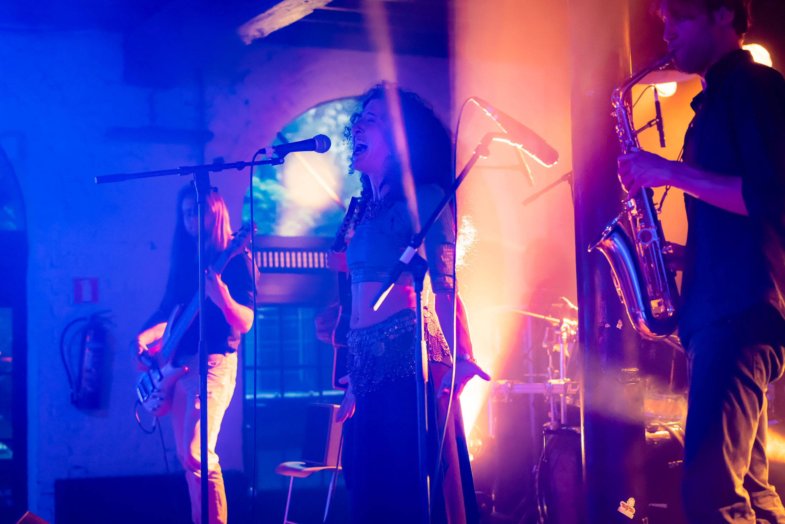 Concert at Pianofabriek. Photo taken by a photographer from Brus