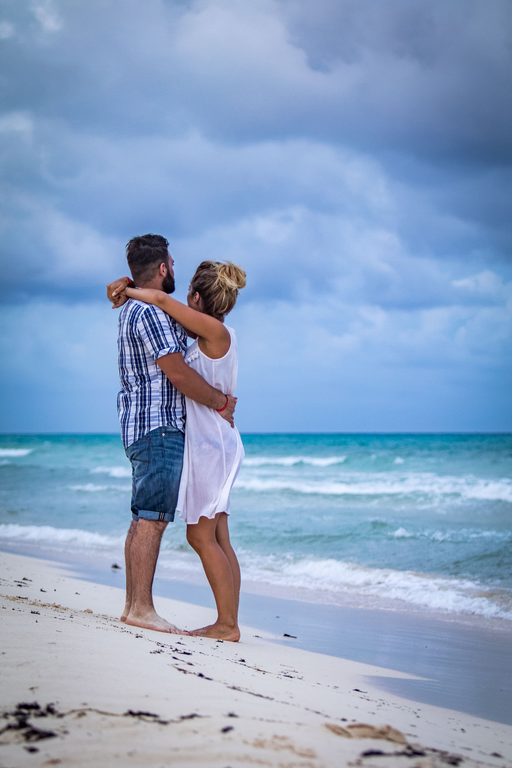Couple photo in Mexico