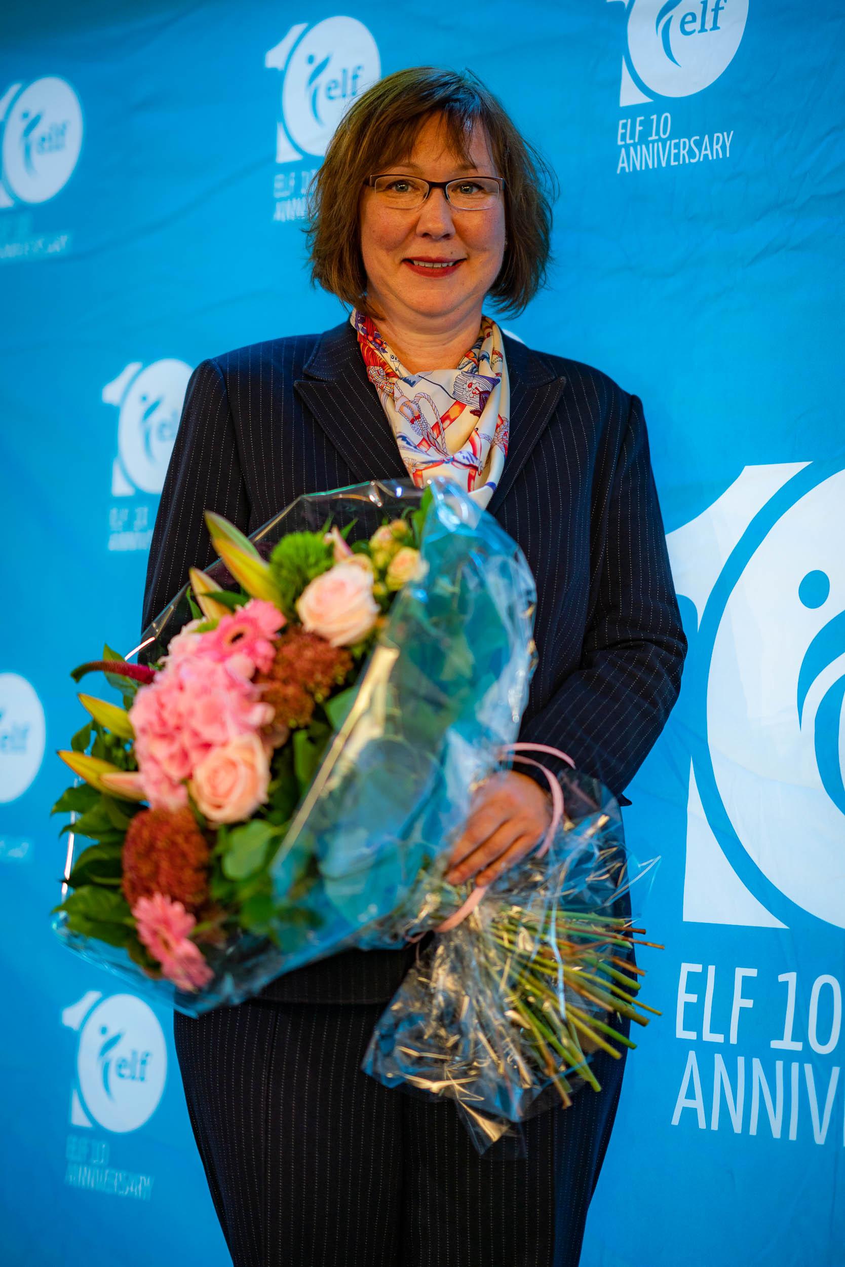 Photograph taken during a seminar of ELF