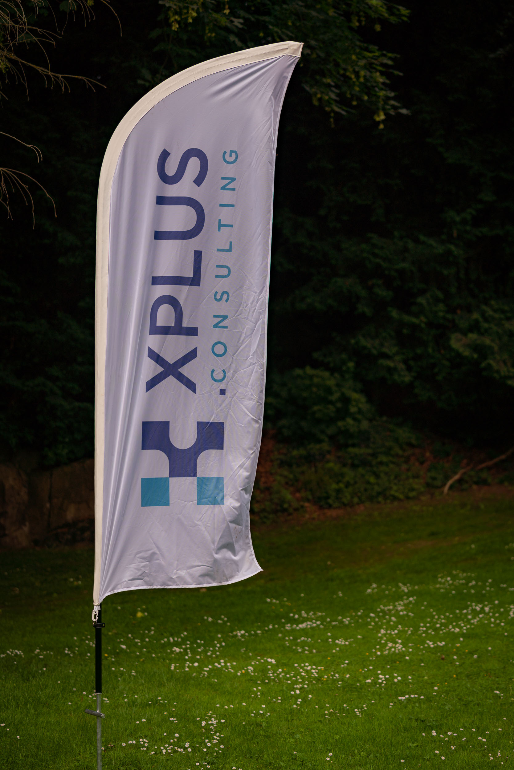 Evening of the company XPlus. Photograph taken by a corporate ph