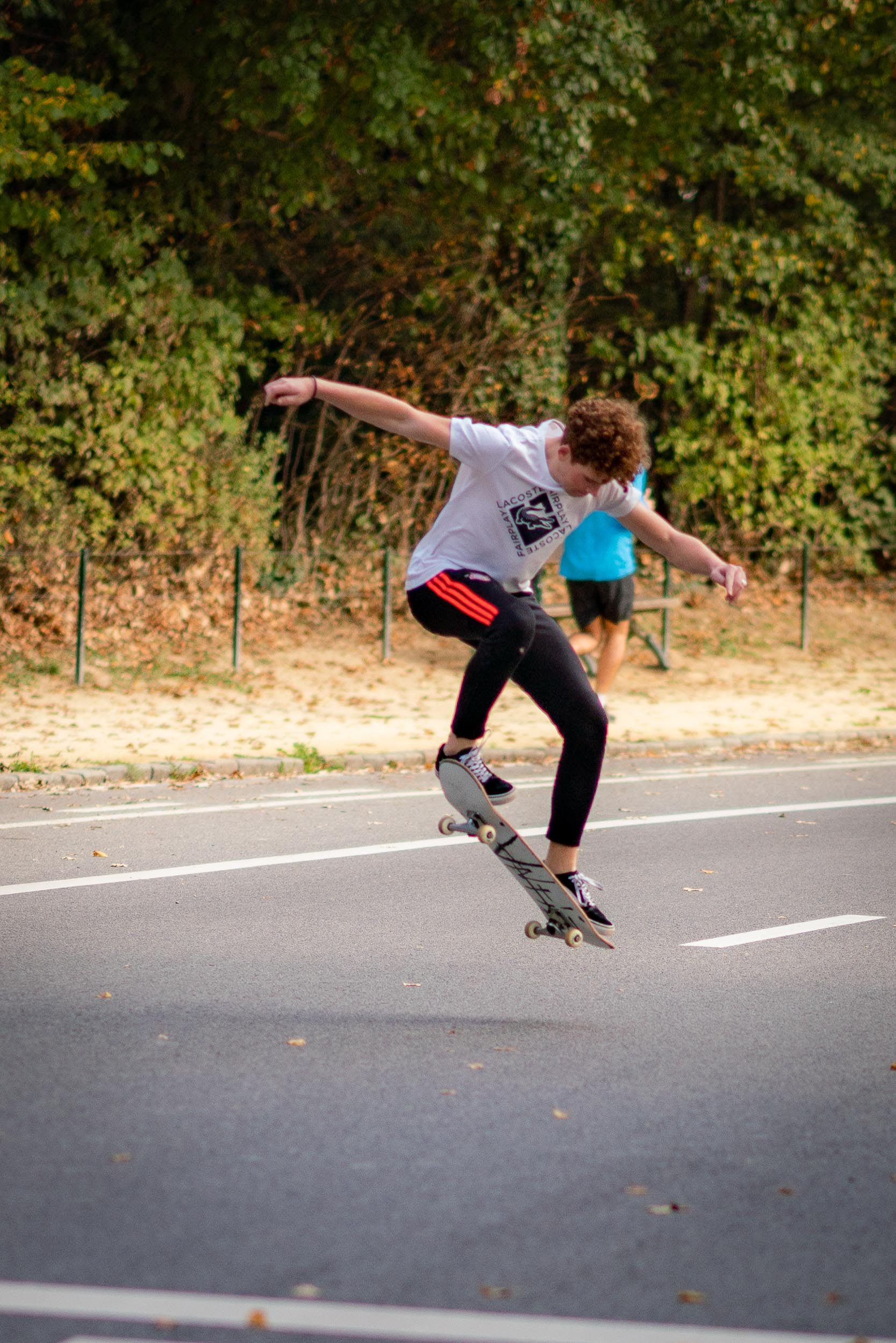 Photograph of a Skate event in the Bois de la Cambre