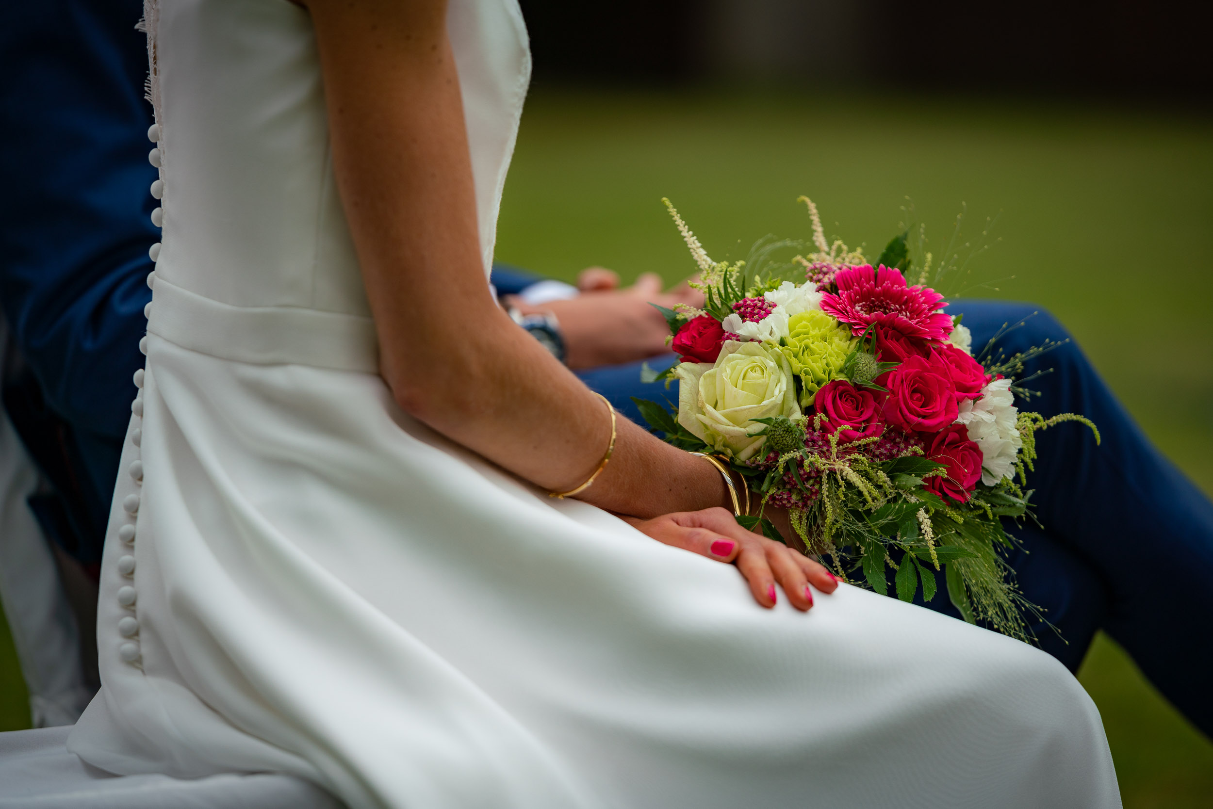 Wedding photo taken near Brussels